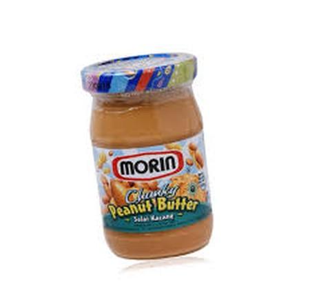 Morin Chunky Peanut Butter Selai, Selai Morin Peanut Butter Chunky Hadir Untuk Melengkapi Menu Sarapan Anda. Roti Tawar Dengan Olesan Selai Morin Sangat Cocok Ditambah Dengan Susu, Teh Atau Kopi Hangat. Selai Morin Menggunakan Bahan-Bahan Terbaik Langsung