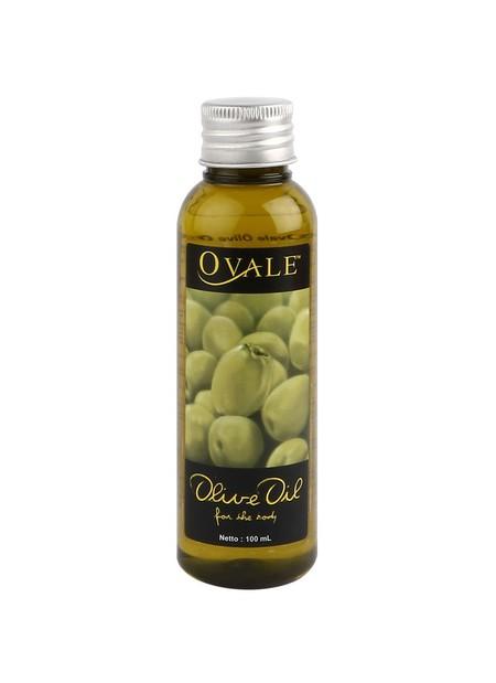 Minyak zaitun OVALE ini diformulasi dapat digunakan untuk merawat seluruh bagian tubuh, dari ujung rambut hingga ujung kaki. Terbuat dari minyak buah zaitun yang membantu mengurangi kekeringan pada kulit wajah dan leher, serta menjaga kelembaban dan kehal