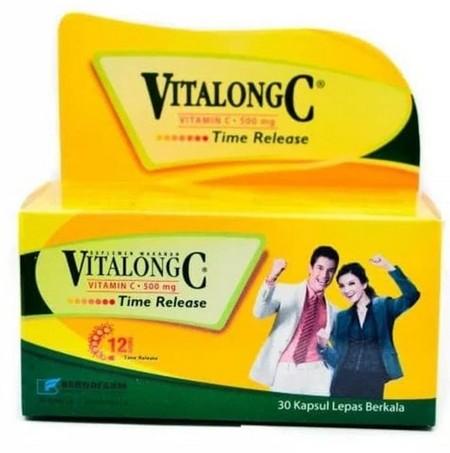 Vitamin C untuk meningkatkan daya tahan tubuh dan membantu memperbaiki regenerasi sel tubuh Komposisi: Vitamin C 500mg Indikasi: Menurunnya daya tahan tubuh karena sakit, kekurangan vitamin C, sariawan, badan lemas, dan regenerasi sel tubuh dan wajah