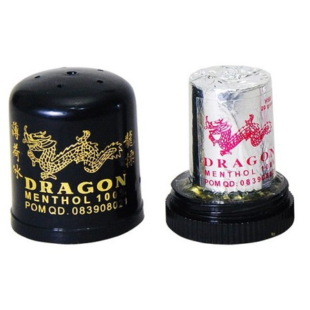 Cap Dragon Menthol HSB 20gr TUBE. Menthol dalam bentuk kristal yang dibuat melalui penyulingan tanaman Mentha Arvensis. Memiliki efek Cooling Sensation setelah dihirup atau dioleskan pada kulit.