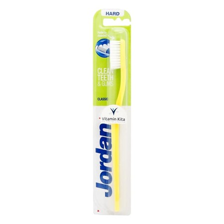 Jordan Toothbrushes Are Made To Help You Brush Better. The Bristles With Hard Bristles