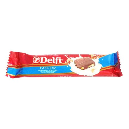 Delfi Cashew 27gr merupakan cokelat premium yang nikmat dan lezat. Dibuat dengan berkualitas dan terjamin mutunya. Cocok dinikmati disetiap suasana dan menambah kebahagiaan.