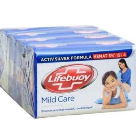 Sabun Batang Mild Care - Kulit sensitif membutuhkan keseimbangan antara perlindungan dan perawatan. Formula khusus sabun batang Lifebuoy mildcare mengandung kebaikan alami susu dan oat yang membuat kulit halus dan lembut. Formula mutakhirnya dirancang lem