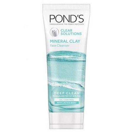 Baru!! Pond'S Pure White Deep Clean & Purify Mineral Clay Foam! Pertama Dari Pond'S, Revolusi Deep Cleansing Dengan Mineral    Diformulasikan Khusus Dengan 100% Morrocan Clay Alami Yang Diperkaya Dengan Kandungan Mineral Untuk Mengkat Kotoran 4X Lebih Bai