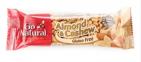 Go Natural Almond & Cashew Snack Is Packed Full Of Delicious Almonds, Cashews, Peanuts And Seeds Making A Great Source Of Protein, Fibre And Nutrients. It Provides Goodness Wherever You Go With Delicious Ingredients You Can See And Taste In Every Bite.