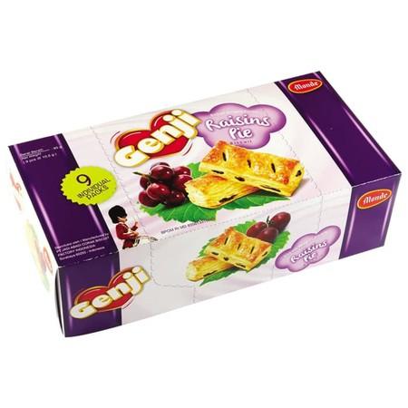 Monde Pie Raisin Mini Biscuit merupakan kombinasi panduan rasa yang dikemas praktis. Terbuat dari bahan berkualitas, ideal menemani saat santai Anda bersama teman maupun keluarga. Rasa yang renyah dan sangat digemari oleh semua usia.