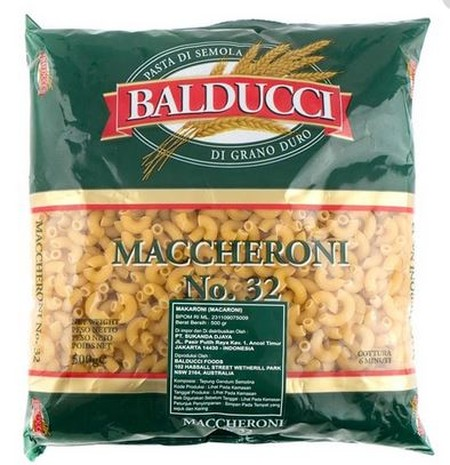 Balducci Macaroni Is Made From High Quality Durum Wheat Balducci Pasta Is Great For Customers Seeking A Value For Money Option. Balducci Is Made In Australia And Is Available In A Range Of Traditional Italian Shapes, Both Long And Short Pasta In A Stylish