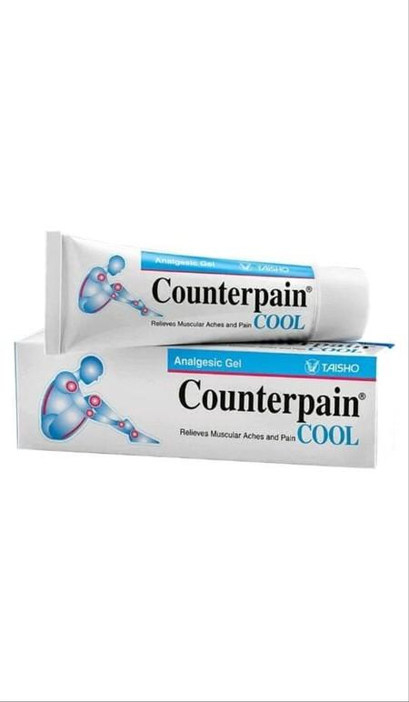 Counterpain Cool Cream [15 g] merupakan cream yang diformulasikan untuk meredakan nyeri otot, nyeri sendi yang berhubungan dengan terkilir, memar, lumbago, dan cedera pada saat olahraga.