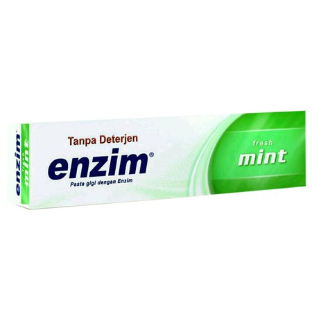 Toothpaste Without Detergent That Contains Enzymes, Is Useful To Restore The Quality Of Saliva In Controlling The Balance Of Oral Bacteria So That It Can Help Overcome Thrush And Bad Breath And Prevent Recurrence. The Content Of Active Substances: * Amg (