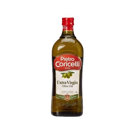 Pietro Coricelli Extra Virgin Olive Oil 500ml adalah minyak zaitun ekstra virgin yang cocok untuk digunakan untuk memasak makanan sehat. Terbuat dari zaitun pilihan yang berkualitas dengan proses pembuatan yang modern dan higienis.
