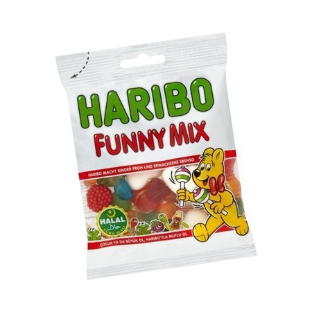 Haribo Funny Mix Love By The Kids And Grown Ups
