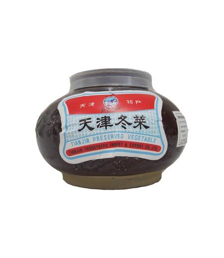 Tongcai adalah bumbu yang terbuat dari lobak yang diasinkan. Warnanya cokelat muda dan rasanya gurih asin. Tongcai biasanya dijadikan sebagai pelengkap yang ditaburkan di atas mi atau bubur, berbentuk potongan kecil-kecil berwarna coklat