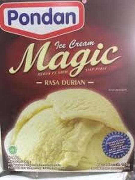 Bahan Premiks Untuk Membuat Ice Cream Mix Durian