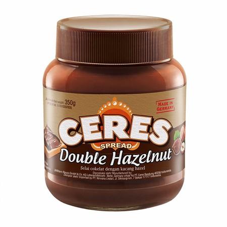 Ceres Spread Duo Merupakan Selai Roti Perpaduan Antara Coklat Hazelnut Dan Susu