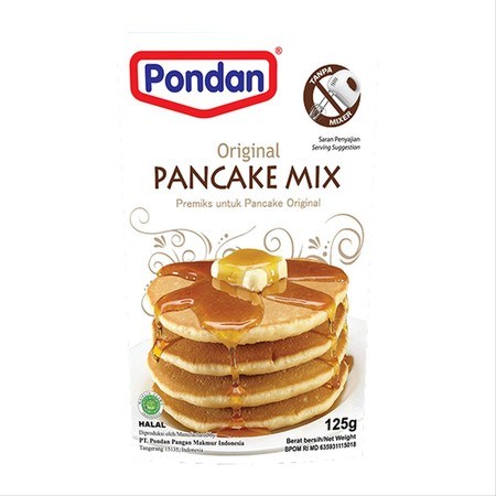 Bahan Premiks Untuk Membuat Pancake Mix
