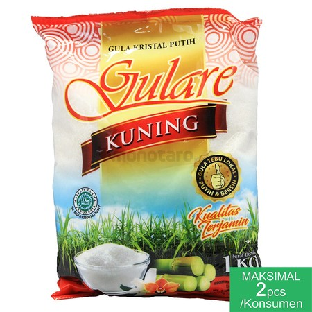 Sugar Cane Made Form Selected Ingredients  White Sugar Brand Gulare, Original Premium Sugar From Local Sugar Cane. White Sugar, Clean And Sweet. Sugar Cane Made Form Selected Ingredients, Good For Making Cake, Tea, Coffe, Or Additional Food Ingredients  S