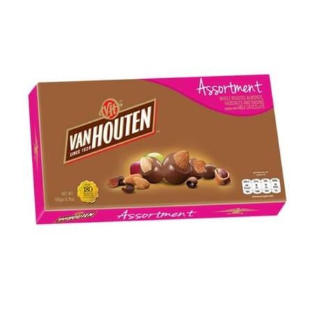 Van Houten Choco Box Asst 90gr merupakan coklat premium yang lezat. Sangat praktis untuk dikonsumsi dan memiliki nilai gizi yang tinggi.