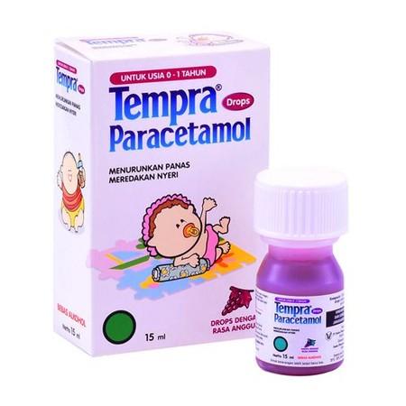 TEMPRA DROPS merupakan obat tetes oral untuk anak usia 0-2 tahun dengan kandungan Paracetamol. Paracetamol bekerja sebagai antipiretik pada pusat pengaturan suhu di otak dan analgetika dengan meningkatkan ambang rasa sakit. Obat ini digunakan untuk menuru