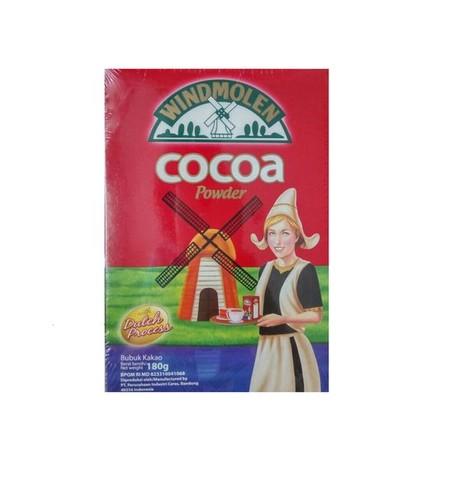 Van Houten Cocoa Powder 180gr merupakan coklat premium yang lezat. Sangat praktis untuk dikonsumsi dan memiliki nilai gizi yang tinggi.