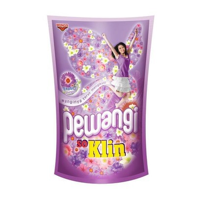 So Klin 1X Rinse & Rinse Glamour Is Special Formulated With Double Perfume Essence, The Latest Technology To Keep Clothes Stay Softness And Aromatic Scents In Longer Period. With Just A Single Wash, Will Rinse Away The Left Over Detergent Foam Perfectly A