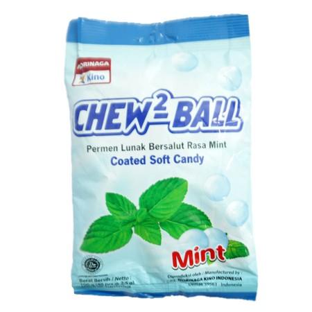Chew-chew Ball, Permen Lunak bersalut rasa buah asli dengan tekstur dan kelembutan yang tidak habis  habis di mulut. Dibungkus dengan unik dan berbagai macam ukuran, rasa permen Chew-Chew Ball yang tebal dan nendang, terasa sampai kunyahan terakhir.