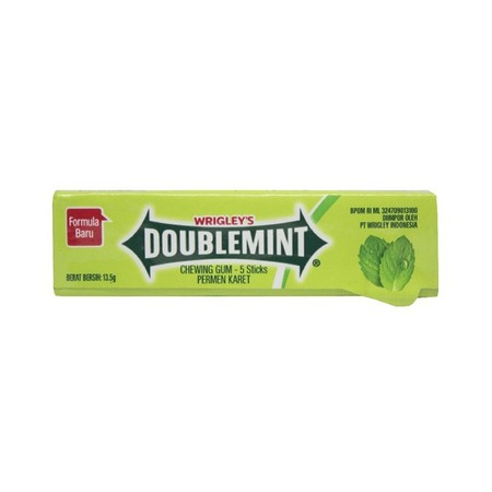 Enjoy The Refreshing Taste Of Doublemint Gum  The Unique, Minty Flavor You CanT Get Anywhere Else. Doublemint Was Launched In The U.S. In 1914 And Has Since Become One Of The WorldS Best-Selling Chewing Gums, Enjoyed By Generations Of Consumers Worldwi