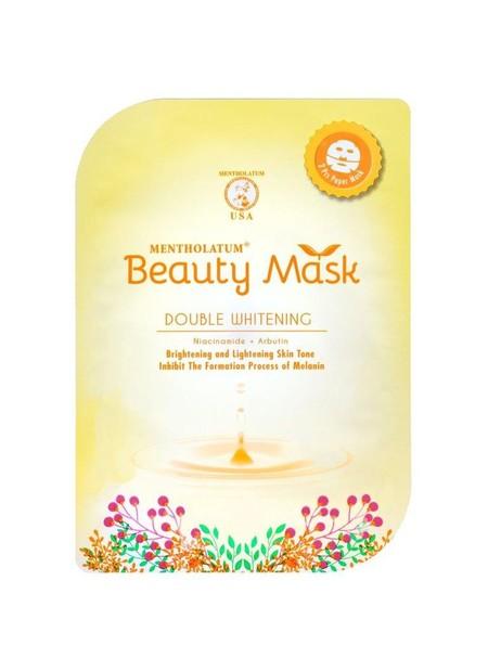 Rohto Mentholatum Beauty Mask Merupakan Masker Wajah Yang Dapat Menutrisi Kulit, Merawat Tekstur Kulit Menjadi Lebih Kencang Dan Segar.