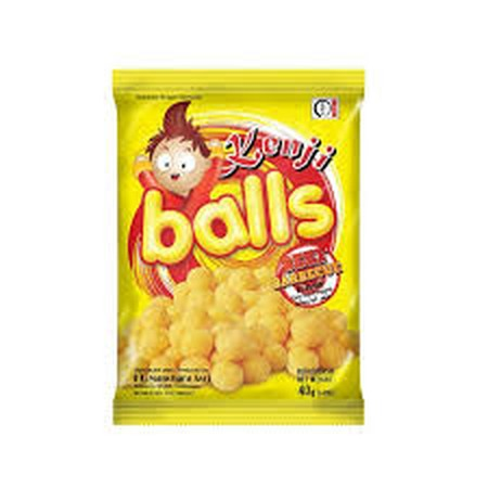 Kenji Ball Sapi Panggang 40gr merupakan makanan ringan lezat berbentuk bola dengan rasa sapi panggang yang menggugah selera. Dapat dinikmati kapan saja di waktu senggang atau sebagai teman saat belajar