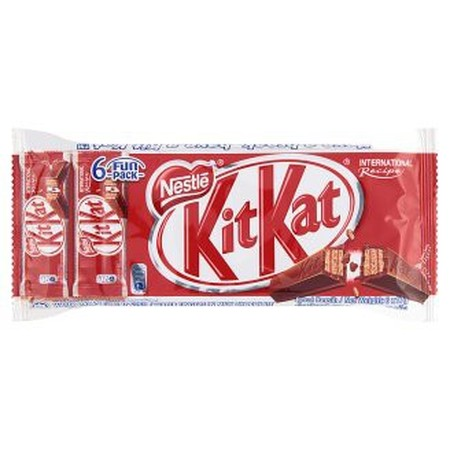 Delicious Chocolate Bar. Made Of 2 Fingers Of Crispy Wafer Covered With Smooth Milk Chocolate. Made With Sustainably Sourced Cocoa From The Nestle Cocoa Plan. Multipack Of 6 Kit Kat Bars. Ideal Treat To Enjoy During Your Break Ingredients: Sugar, Full Cre