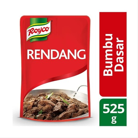 Royco Rendang Topdish, Bumbu giling basah yang diformulasikan spesial untuk pengusaha jasa makanan. Dibuat dengan mengikuti resep tradisional Padang untuk menghasilkan warna & citarasa otentik yang istimewa.