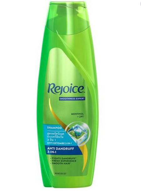 Rejoice Shampoo 3 In 1 170ml - Menutrisi rambut hingga lapisan terdalam - Aroma wangi dan tahan lama - Formula khusus untuk rambut lembut - Berikanlah perawatan terbaik bagi rambut keluarga dengan menggunakan sampo dari Rejoice ini, untuk rambut Anda akan