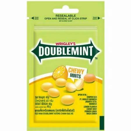 Perpaduan Segarnya Rasa Ice Lemon & Peppermint Dengan Tekstur Permen Lunak.