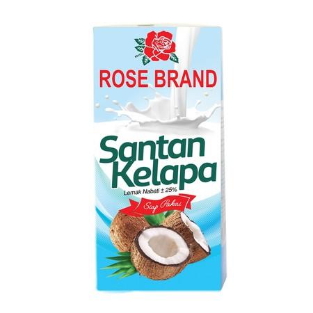 Santan Kelapa Rose Brand terbuat dari kelapa pilihan berkualitas, yang diproses secara modern dengan teknologi tinggi secara higienis untuk membuat semua makanan Anda menjadi gurih dan lezat. Mengandung antioksidan, Vitamin C, E dan B yang baik untuk asup
