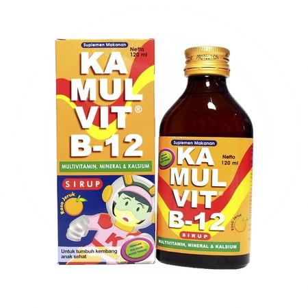Kamulvit B-12 adalah suplemen untuk membantu memenuhi kebutuhan multivitamin dan mineral. Obat ini merupakan produk konsumen yang dijual secara bebas. Kamulvit B-12 mengandung multivitamin dan kalsium. Suplemen untuk membantu memenuhi kebutuhan multivitam