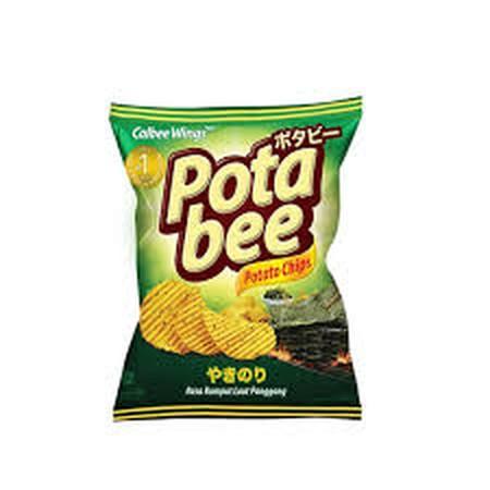Snack Keripik Kentang Yang Renyah Karena Terbuat Dari Kentang Asli Yang Dipotong Dengan Teknologi V-Cut Bikin Renyahnya Lebih Kriuk Dan Mengunci Rasa Lebih Banyak.