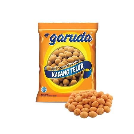 Garuda Kacang Telur 250Gr Pack Garuda Kacang Telur 250Gr PackMerupakan Snack Kacang Telur Yang Terbuat Dari Kacang Tanah Pilihan Yang Garing Dan Padat, Kemudian Dibalut Oleh Tepung Dari Telur Dan Bahan-Bahan Berkualitas Lainnya.Rasa Kacangnya Yang Guri