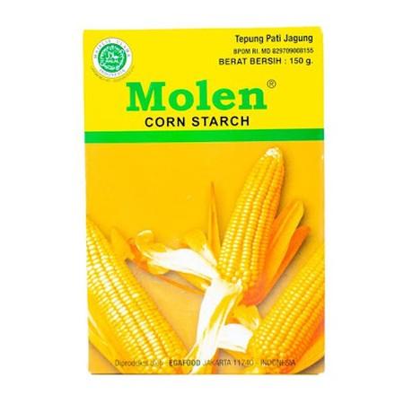 Tepung Maizena merek Molen, dibuat dari bahan berkualitas, bersih dan higienis.