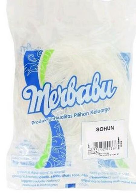 Dapat digunakan untuk berbagai macam makanan. Sohun atau soun (suun) adalah mi halus yang dibuat dari pati. Setelah direbus atau direndam, sohun berwarna bening, bertekstur kenyal, dan memiliki permukaan yang licin. Di antara berbagai jenis pati yang bisa
