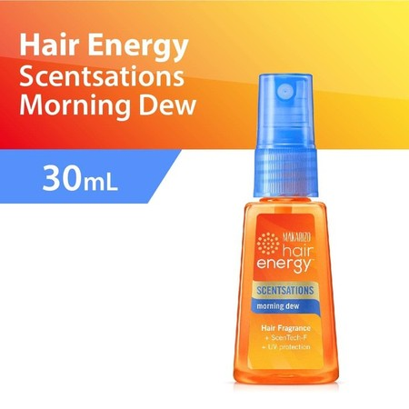 Makarizo Hair Energy Scentsations Is A Deodorizing Hair Fragrance That Neutralizes All Types Of Unpleasant Odors With Nature-Inspired, Refined Scents. Can Be Used On Children Aged 3 And Above. Does Not Stain.  Morning Dew Will Rejuvenate Your Hair And Moo