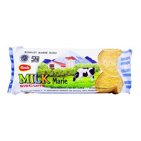 Biskuit yang renyah dan lembut di mulut. Biskuit Marie berkualitas terbuat dari susu murni pilihan, mengandung protein, kalsium, serat & kaya vitamin.
