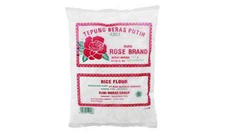 Tepung Beras Rose Brand adalah tepung yang dibuat dari beras terbaik diproses secara higenis, sangat cocok untuk bahan baku membuat semua jenis kue kue tradisional atau hidangan lainnya. Tepung beras tidak sama dengan pati beras yang dibuat dengan merenda