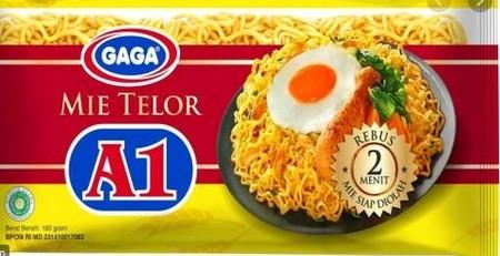 Gaga Mie Telor A1 Merupakan Mie Telur Instan Yang Memiliki Rasa Yang Gurih Dan Lezat. Mudah Diolah Menjadi Hidangan Lezat.