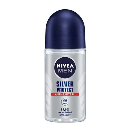 NIVEA MEN Silver Protect Spray mengandung formula anti-bakteri dari Silver Ion yang membantu mencegah bakteri penyebab bau badan Perlindungan dari bau badan selama 48 jam dengan aroma maskulin yang modern Melawan bau badan tak sedap dengan perlindungan