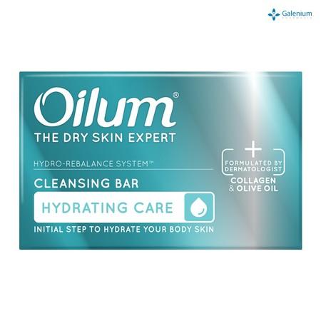 Oilum Hydrating Cleansing Bar Diformulasikan oleh dokter kulit. Perawatan kulit kering berlebih dan kulit mulai berkerut. Mengembalikan keseimbangan hidrasi alami (kelembaban) kulit agar halus, lembut, elastis.