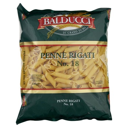 Balducci Penne Rigati Is Made From High Quality Durum Wheat Balducci Pasta Is Great For Customers Seeking A Value For Money Option. Balducci Is Made In Australia And Is Available In A Range Of Traditional Italian Shapes, Both Long And Short Pasta In A Sty
