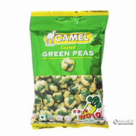 The Nose-Tingling Burn Of Horseradish, Finishing Off With The Subtle Pea Sweetness  Wasabi Coated Green Peas Are Impossible To Stop Eating. They Are The Only Answer To Any Type Of Hunger Pang.  Ingredients: Green Peas, Wheat Flour, Corn Flour, Cane Sugar