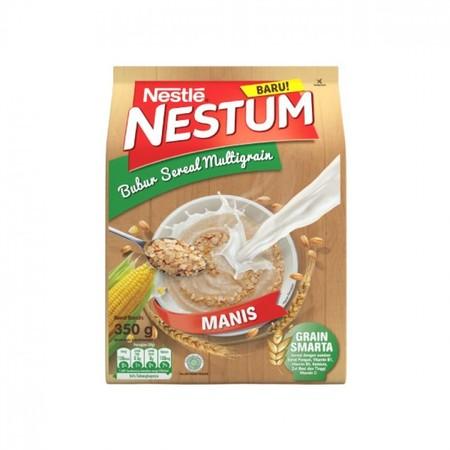 Nestle Nestum Bubur Sereal Rasa Susu Coklat (4 X 32 G) Adalah Bubur Sereal Yang Terbuat Dari Bahan Gandum Utuh, Jagung, Dan Beras Dapat Memberi Rasa Kenyang Lebih Lama. Diperkaya Dengan Vitamin Dan Mineral Untuk Memenuhi Kebutuhan Nutrisi Tubuh.