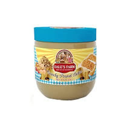 DaleS Farm Peanut Butter Selai Kacang Adalah Selai Kacang Yang Terbuat Dari Bahan-Bahan Terbaik Sehingga Nyaman Dan Enak Untuk Dinikmati. Selai Kacang Peanut Butter DaleS Farm Ini Juga Kaya Akan Manfaat Seperti Menyehatkan Jantung Dan Kaya Akan Lemak Ba
