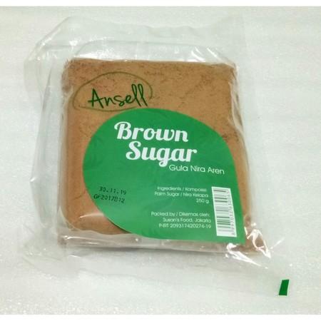Ansell Brown Sugar terbuat dari gula merah impor pilihan. Cocok untuk memaniskan kopi, teh, bandrek dan lain-lain.