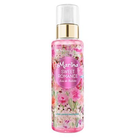 MARINA Eau De Toilette Sweet Romance 150ml merupakan parfum EDT dengan keharuman bunga mewah dan modern yang terinspirasi dari parfum favorit dunia. Kesegaran dan kekuatan wanginya bertahan lebih lama. Terdiri dari aroma Ambience Romantic, Sweet, Feminine